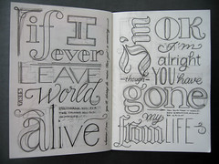 If I ever... alright (Marina Chaccur) Tags: contrast pen pencil sketch handmade drawing stroke sketchbook ornaments contraste styles lettering calligraphy script lpis process msica narrow handwritten serif sans letras letra caligrafia lyric processo caneta nanquim ornamento swashes serifa foggingmolly