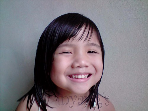 mikee's new hairstyle