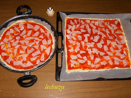 masa pizzas-tomate