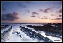 "Hartland - North Devon (David N Moorhouse) Tags: sunset seascape beach landscape atlantic lee filters hartland d700 devon"" ""norrth"