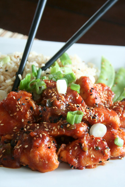 General Tao Chicken • The Healthy Foodie