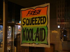 Fresh squeezed Kool Aid? (DetroitDerek Photography ( ALL RIGHTS RESERVED )) Tags: summer urban usa color sign night cool downtown fuji bright drink michigan ad detroit squeeze advertisement explore amateur allrightsreserved koolaid globalvillage 2007 313 pritzker aclass grandcircus a aplusphoto flickrphotoaward amateurhighfive excapture photosthatrock