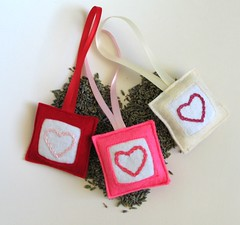 lavender ornaments (pillowhead designs) Tags: christmas flowers holiday lavender ornaments gift dried etsy sachet pillowhead smellnice