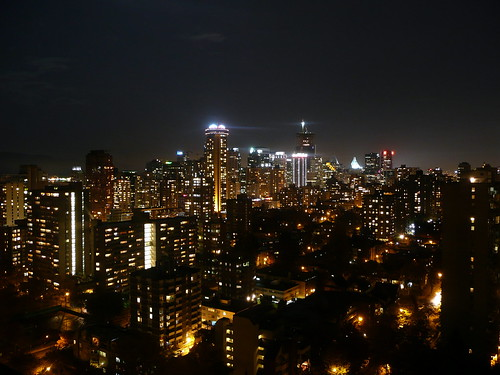 Vancouver de Noche Foto 3