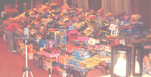 Toys Donated for Charity at the Margarita Ball