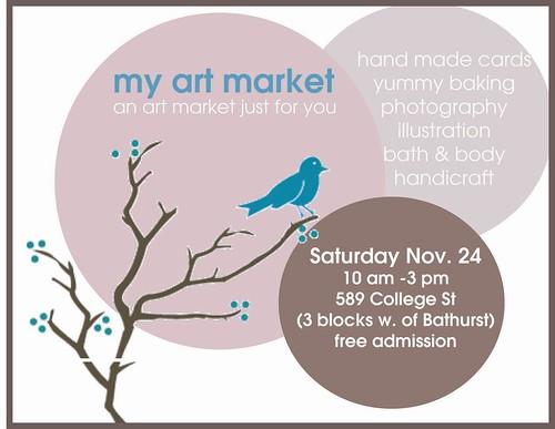 my art market flyer copy