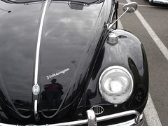 black (define23) Tags: color detail vw bug volkswagen beetle collection repetition upclose