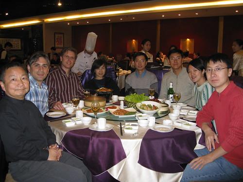 Dinner at Quan Ju De