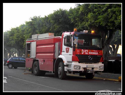 camión de bomberos