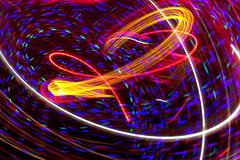 Camera Toss (arcanericky) Tags: christmas lights toss swirl cameratoss throw