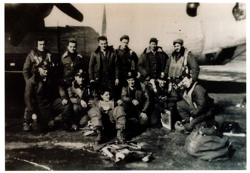 Lt Tauer's Crew, 445th Bomb Group, 8th Air Force, WWII