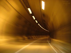 Tunnel Vision (_AcL_) Tags: 07 tunnelvision 35faves photographicdesign etchxl driving60mphthroughatunnel