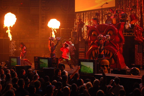 Cool Pictures Rob Zombie On Stage