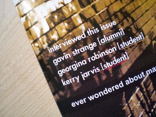 Munch Magazine Cover Close-up