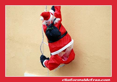 Papa Noel en apuros