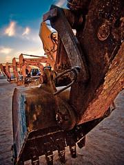 Rusty hand ! HDR (| Rashid AlKuwari | Qatar) Tags: metal rust machine rusty mechanic hdr doha qatar       alkuwari lkuwari