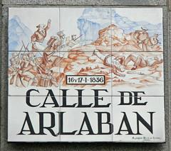 Calle madrileña con nombre de batalla: Arlabán