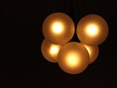 Art Deco style: lamp