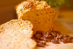 Beer Bread & Candied Pecans