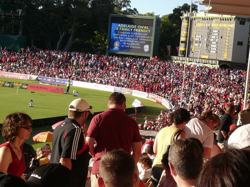 Crowds At Adelaide Oval 1