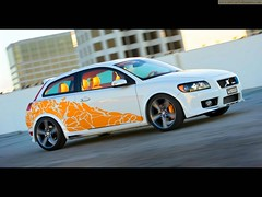 Volvo_C30 by Heico Sportiv for SEMA 2007 (Syed Zaeem) Tags: by for sema heico 2007 sportiv volvoc30
