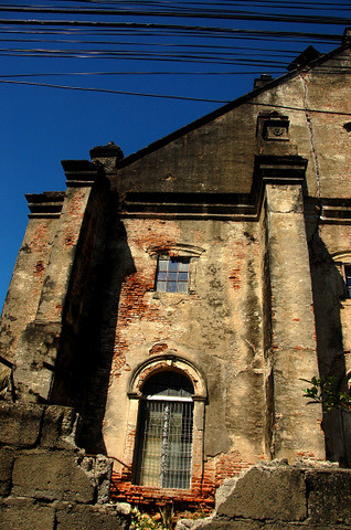 San Nicolas church rear