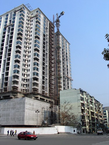 Construction in Yichang