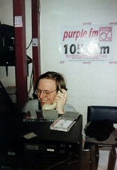 On the phone in 1998