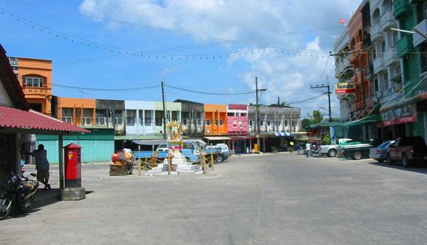 Улица Ранонга.
