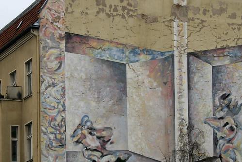 Bröckelnde Fassade