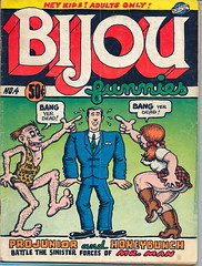BIJOU-No.4 (Man_of Steel) Tags: bijou robertcrumb mrman the70s rcrumb honeybunch undergroundcomics bijoufunnies projunior