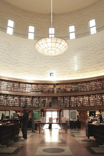 Gunnar Asplund - Stockholm Library