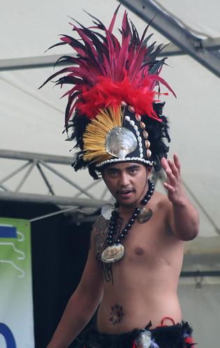 Cook Island. Harmony Day. Victoria