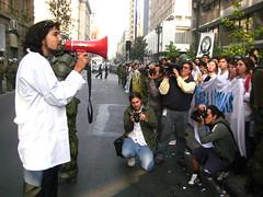 Protesta contra almacenes farmaceuticos - by Malybelen
