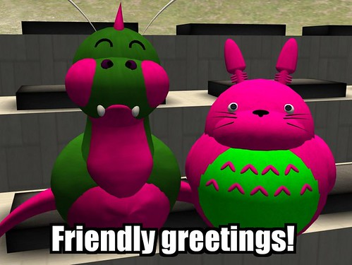 Friendly greetings!