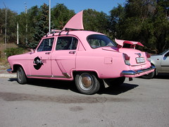 Another pink GAZ (Danner Poulsen) Tags: auto pink car russia gaz 1957 volga rusland stalingrad volgograd madeinrussia россия волга волгоград рф российскаяфедерация сталинград 3rome tredjerom сделановроссии