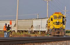 Classic Curves (Brian D Plant) Tags: atsf santafe gp30 gp30u bnsf railroad conductor