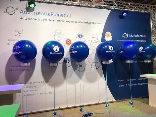 Cloudbuster Rond Bedrukt Webwinkel Vakdagen Jaarbeurs Utrecht