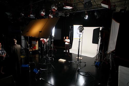 this week's studio lighting setup