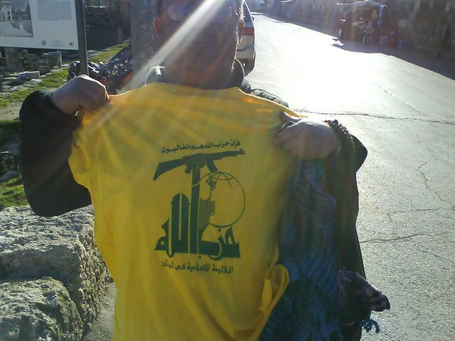 Guy who kept on trying to sell me a Hezbollah t-shirt outside of baalback