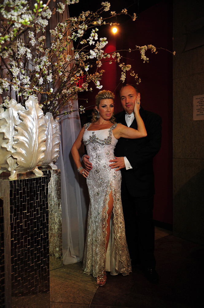 Lana and Edward, Silver Anniversary party, custom bridal accessories, Rasputin New York