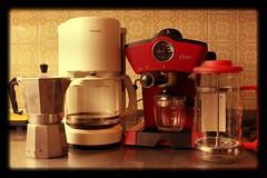 As you can see, I drink coffee (manuelvaladezacuña) Tags: coffee café metal del john starbucks cielo oaxaca punta express veracruz chiapas cafetera filtro cafeteras embolo cafeloca
