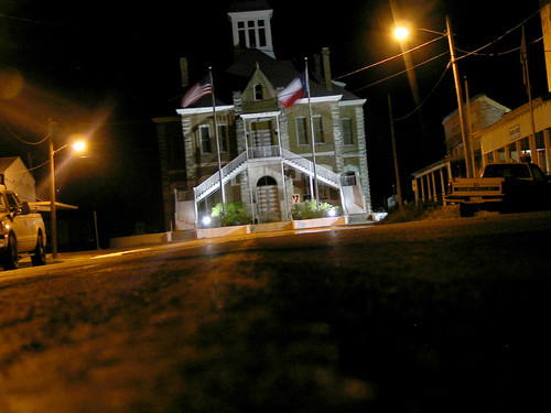 Anderson Courthouse at Night