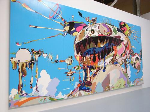 Takashi Murakami: Superflat and super awkward