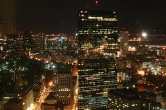 Night lights (urbanfeel) Tags: city windows sky boston buildings skyscrapers massachusetts nights metropolis tall