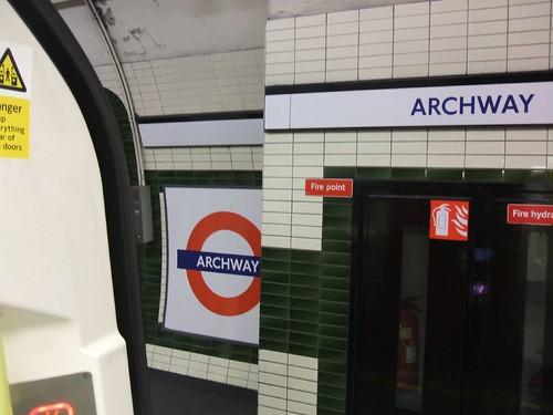 Archway Tube by MackenzieBlu