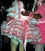 Halloween 07  IMG0107 (Lanterna) Tags: pink costumes halloween garter night fun lace parade satin halloweenparade crossdress lanterna greenwichvillage