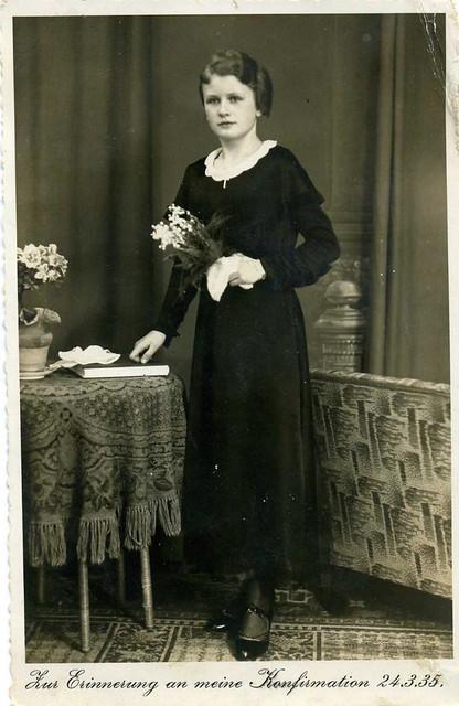 1935 Confirmation photo