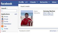 Jeremy Burton op Facebook