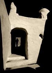 Mosque in Ghadames old town, Libya (Eric Lafforgue) Tags: old shadow town muslim islam religion mosque ombre mosquee libya ramadan ghadames libia libye libyen ghadafi  lbia lafforgue libi libiya  ribia liviya khadafi flickrdiamond libija 12839       lbija  lby  libja lbya liiba livi
